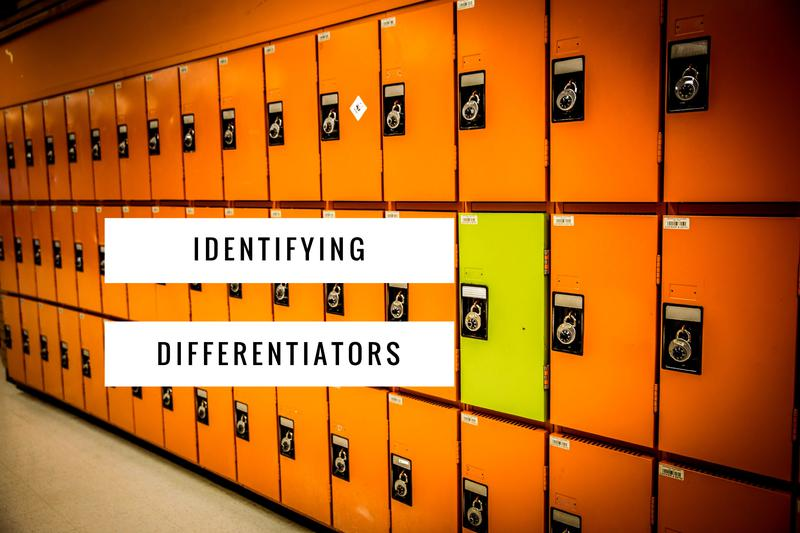 how to identify differentiators, How to Be Uniquely You